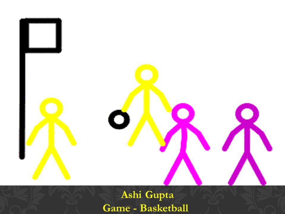Ashi Gupta Game - Basketball