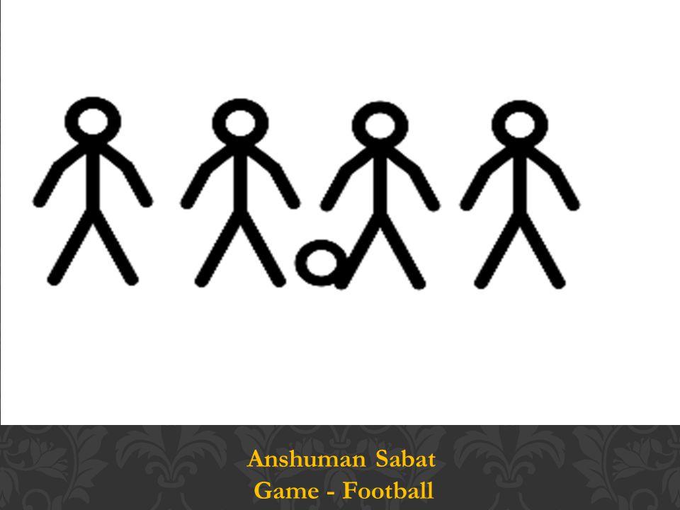 Anshuman Sabat Game - Football
