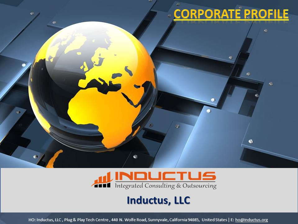 Inductus, LLC HO: Inductus, LLC, Plug & Play Tech Centre, 440 N.