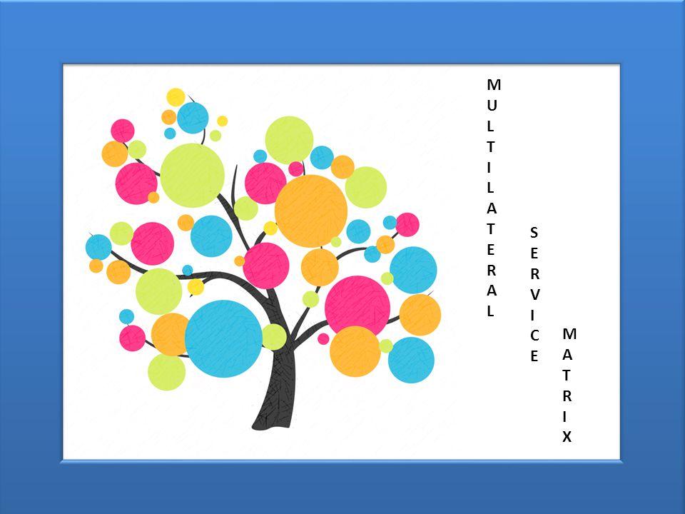 MULTILATERALMULTILATERAL SERVICESERVICE MATRIXMATRIX