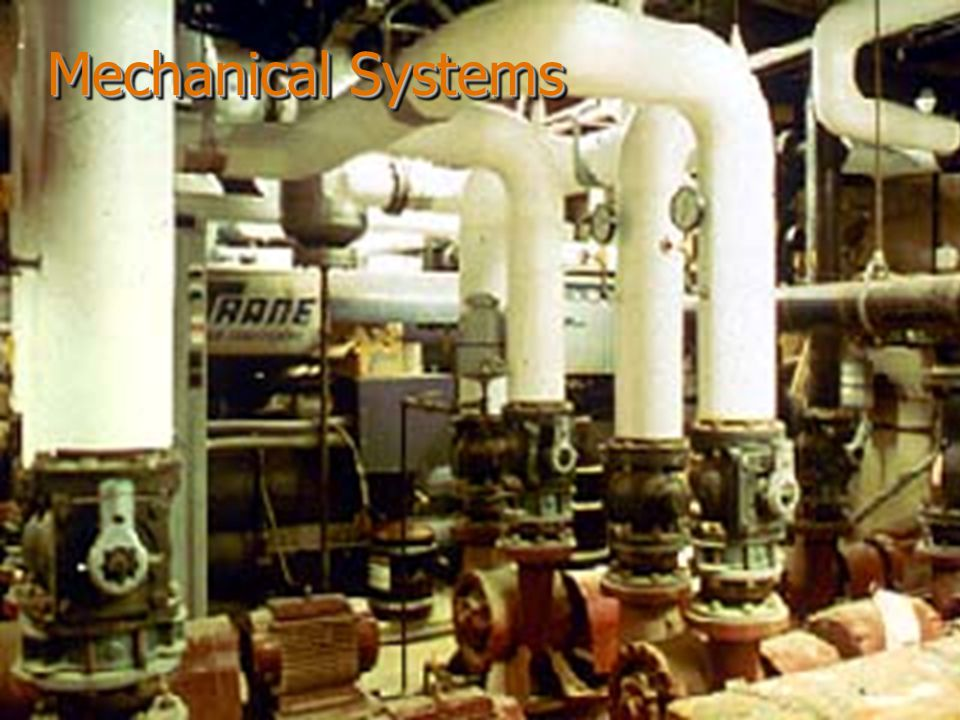 Mechanical Systems Mechanical Systems