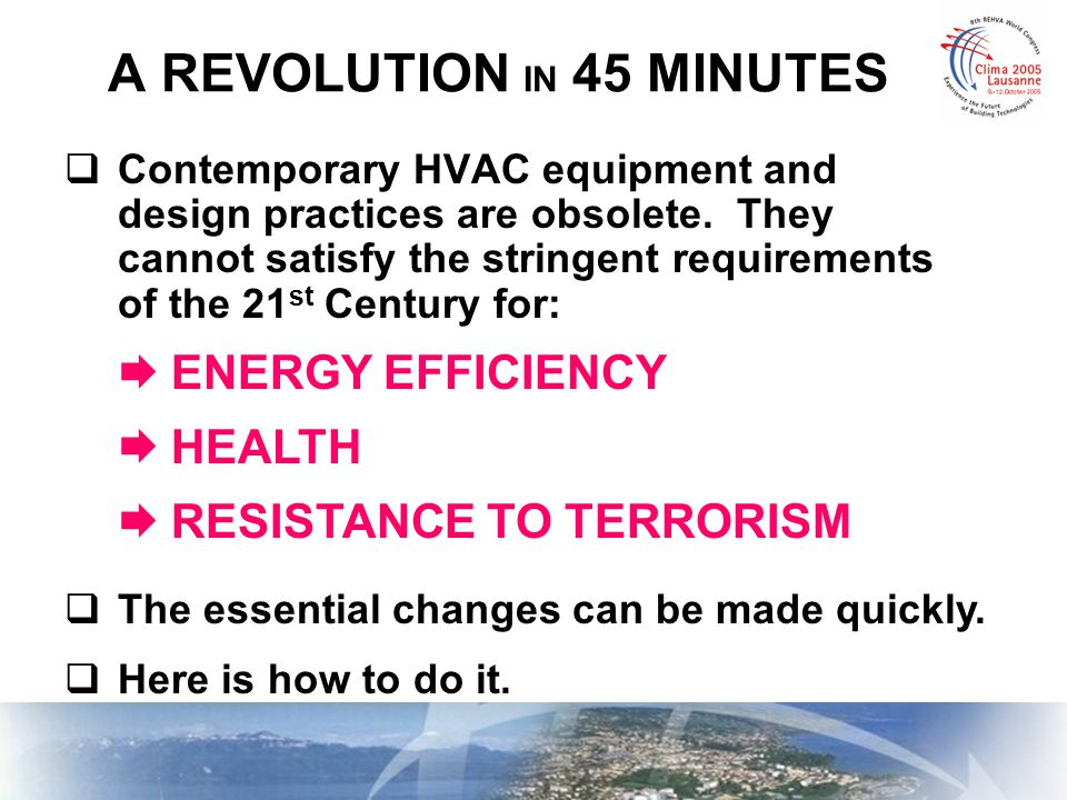 The Common Functions of HVAC (More Than You Realize!) FUNCTIONS NOT INVOLVING O.A.FUNCTIONS INVOLVING O.A.