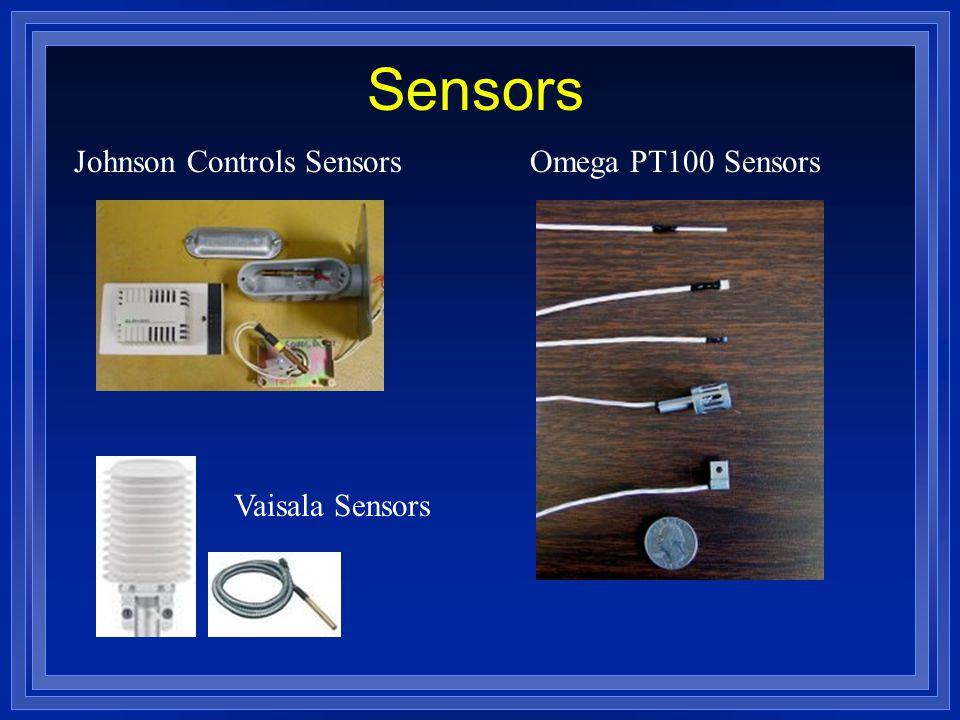 Sensors Omega PT100 SensorsJohnson Controls Sensors Vaisala Sensors