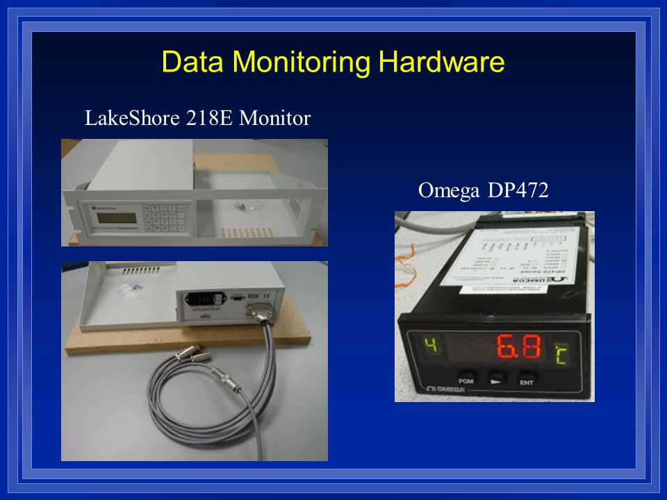 LakeShore 218E Monitor Omega DP472 Data Monitoring Hardware