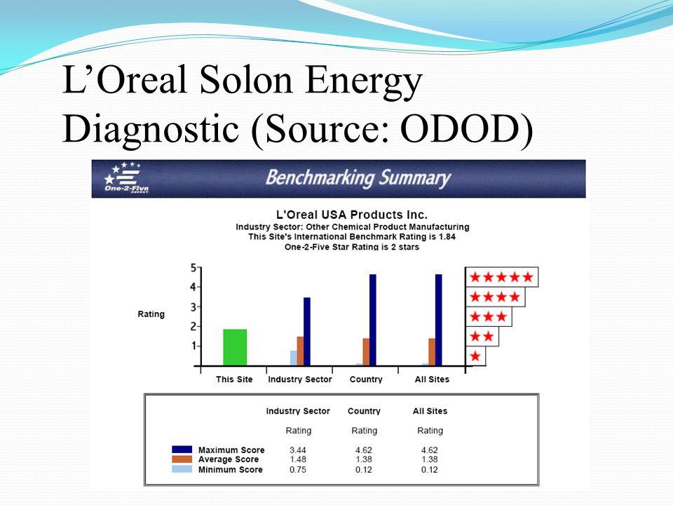 L'Oreal Solon Energy Diagnostic (Source: ODOD)
