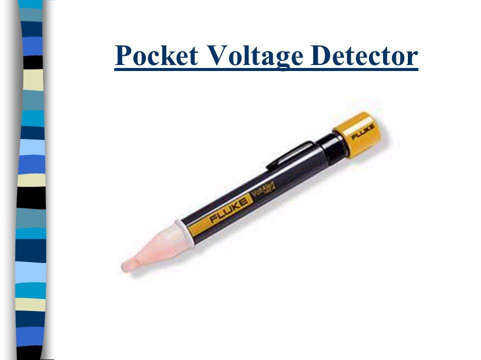 Pocket Voltage Detector