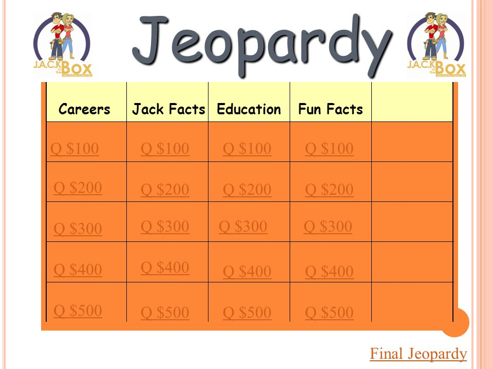 LET'S PLAY HVAC JEOPARDY !