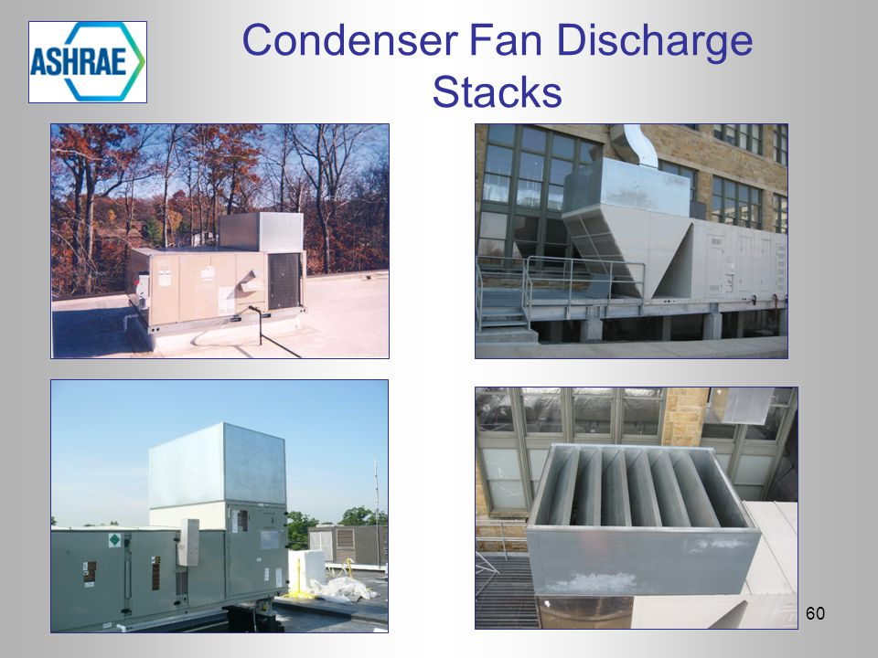 Condenser Fan Discharge Stacks 60