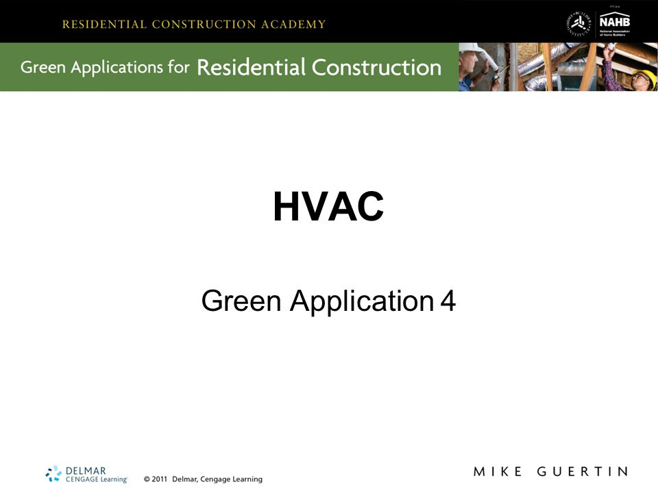 HVAC Green Application 4