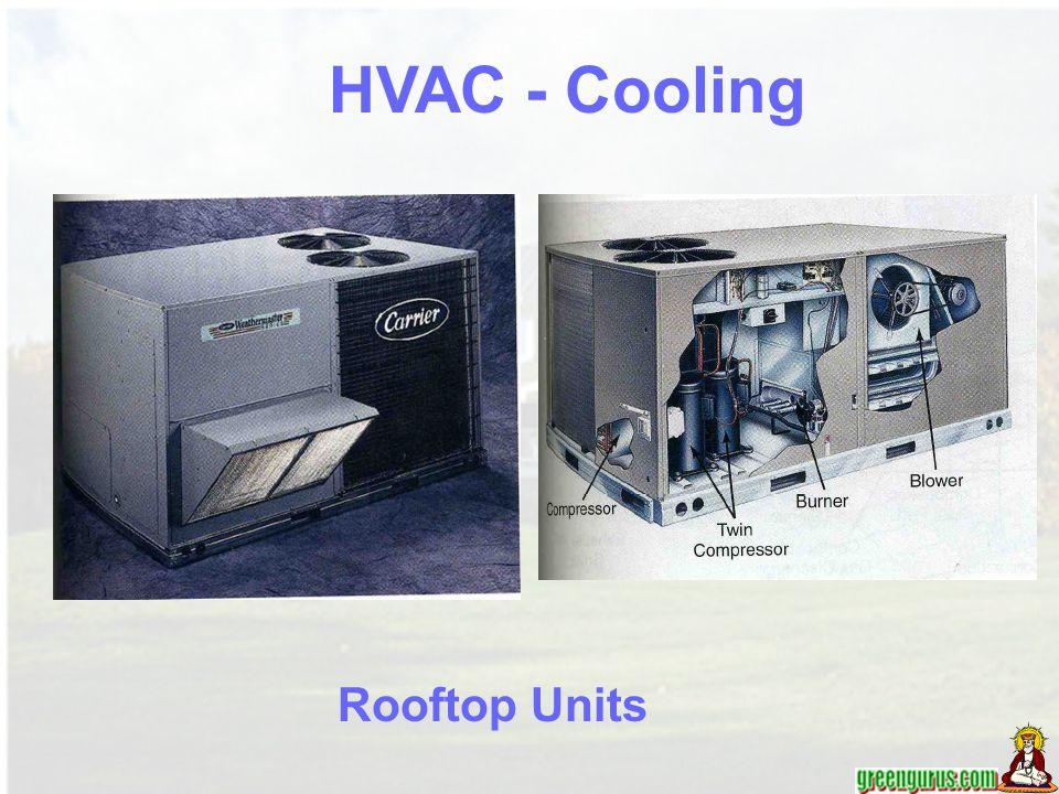 Rooftop Units HVAC - Cooling