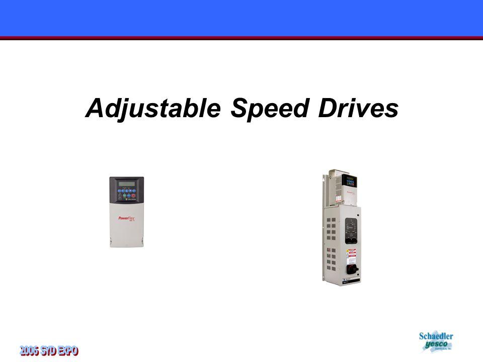 Adjustable Speed Drives