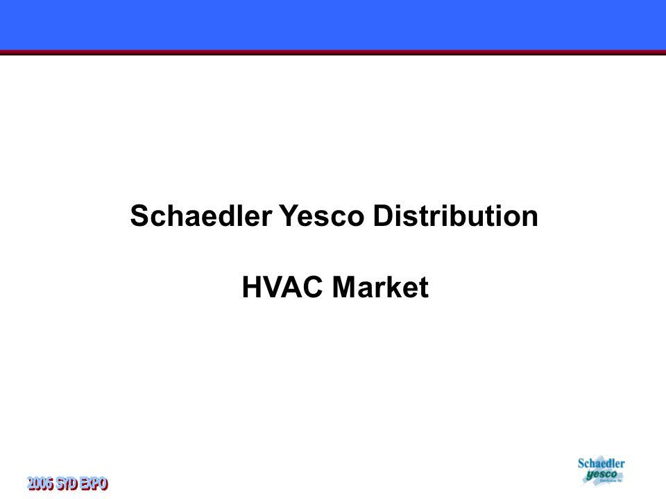 Schaedler Yesco Distribution HVAC Market