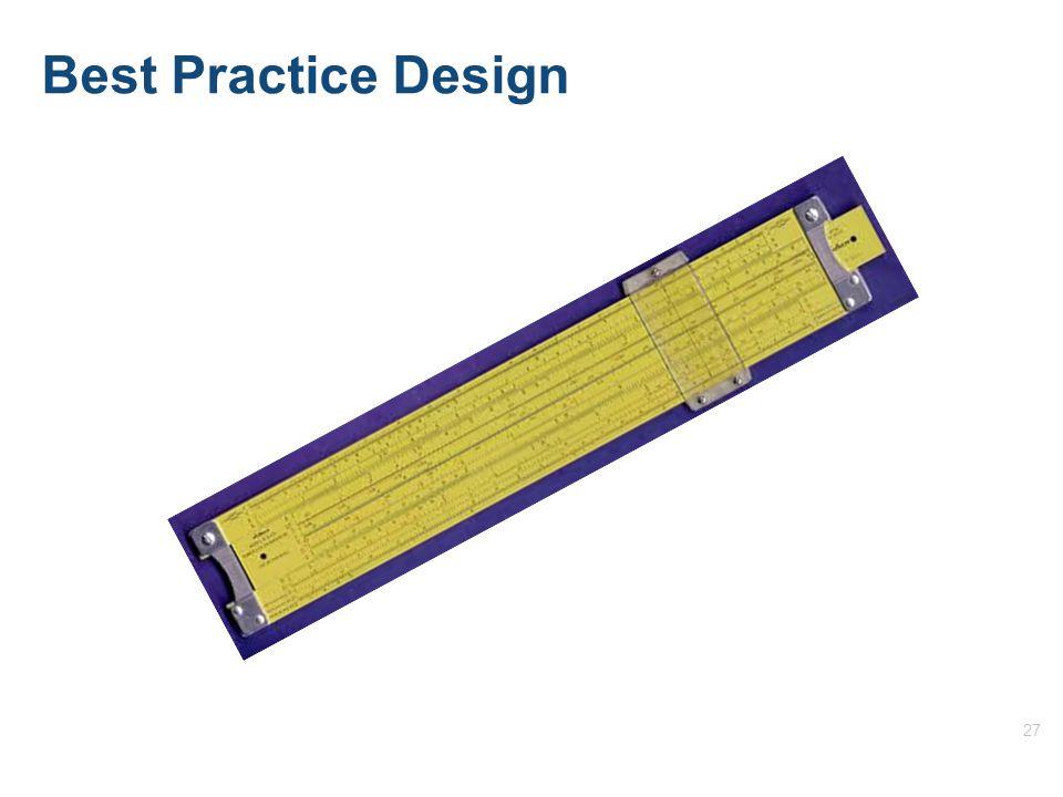 27 Best Practice Design