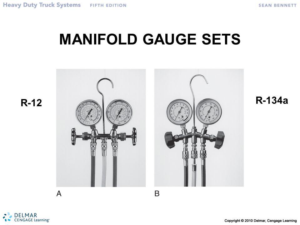 MANIFOLD GAUGE SETS R-12 R-134a
