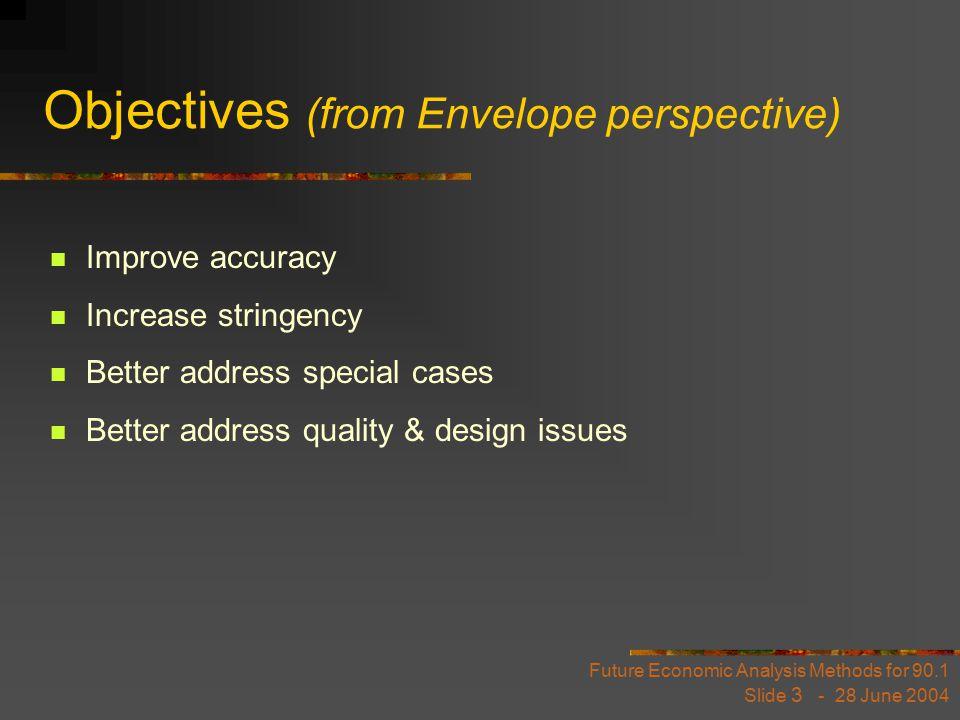 Future Economic Analysis Methods for 90.1 Slide 14 - 28 June 2004 Ph.