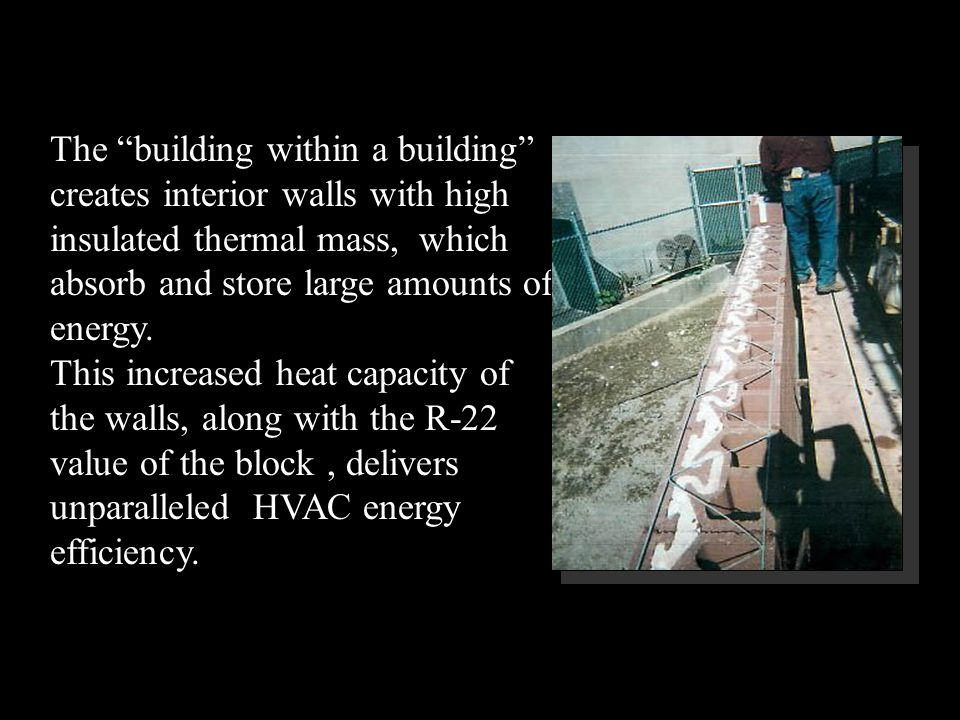 NRG Insulated Block pays for itself.