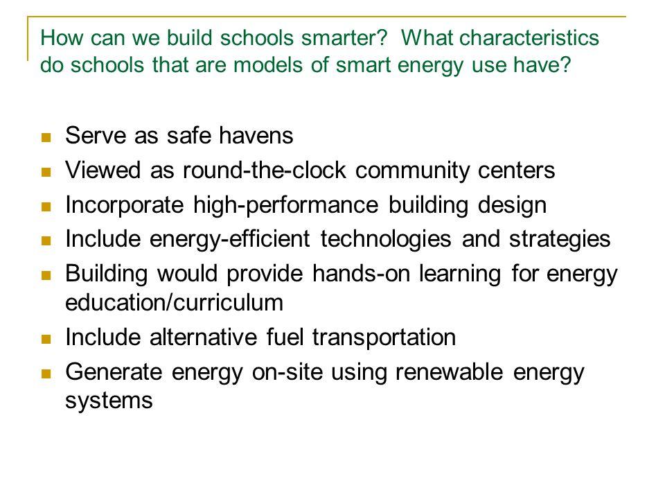 How can we build schools smarter.