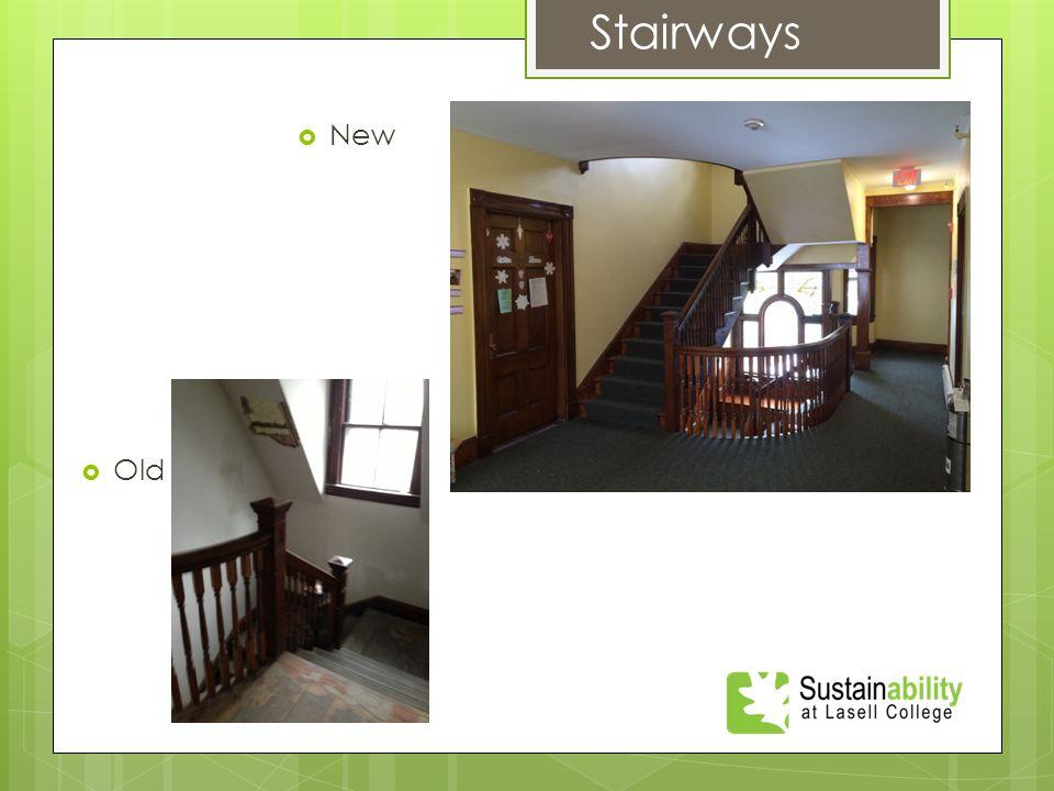  New Stairways  Old