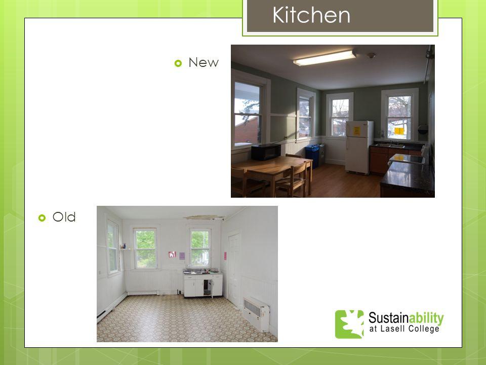  New Kitchen  Old