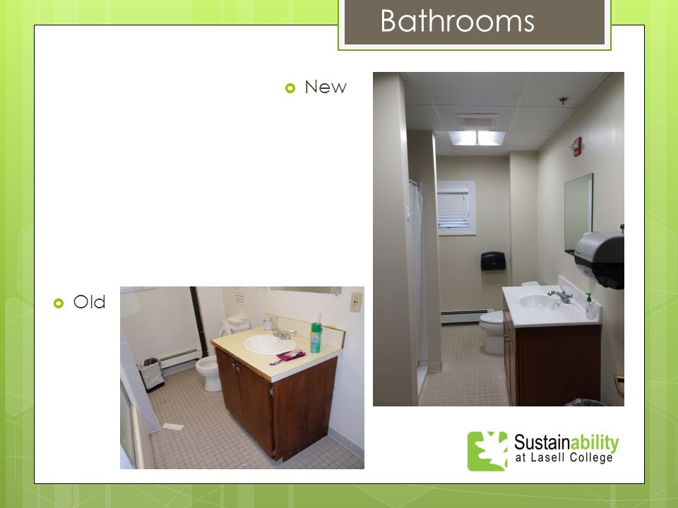  New Bathrooms  Old