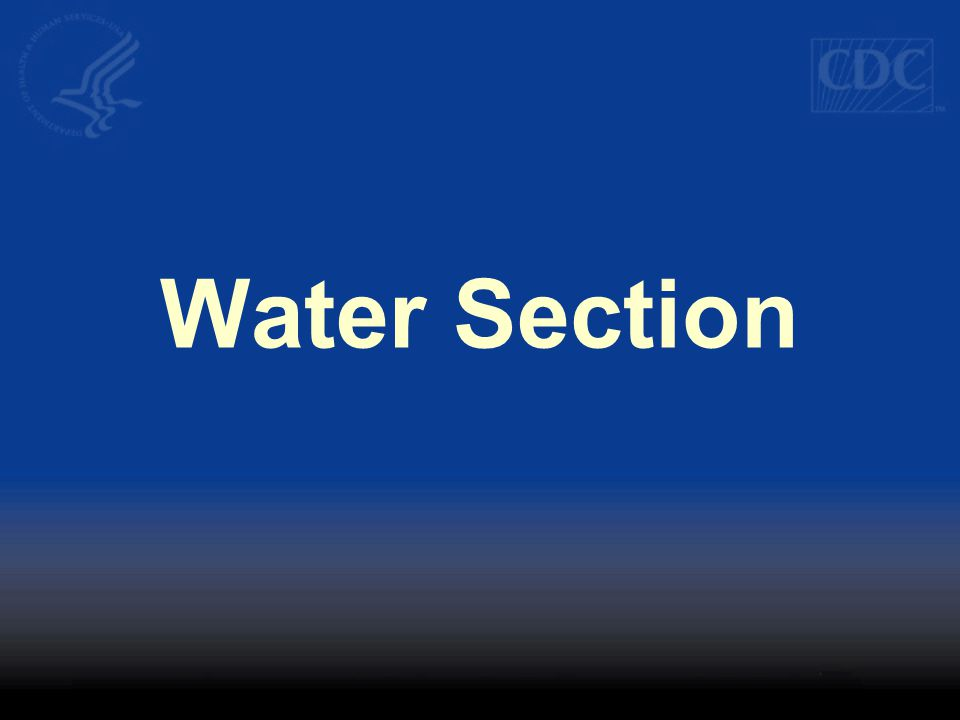 Water Section