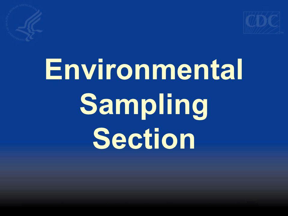 Environmental Sampling Section