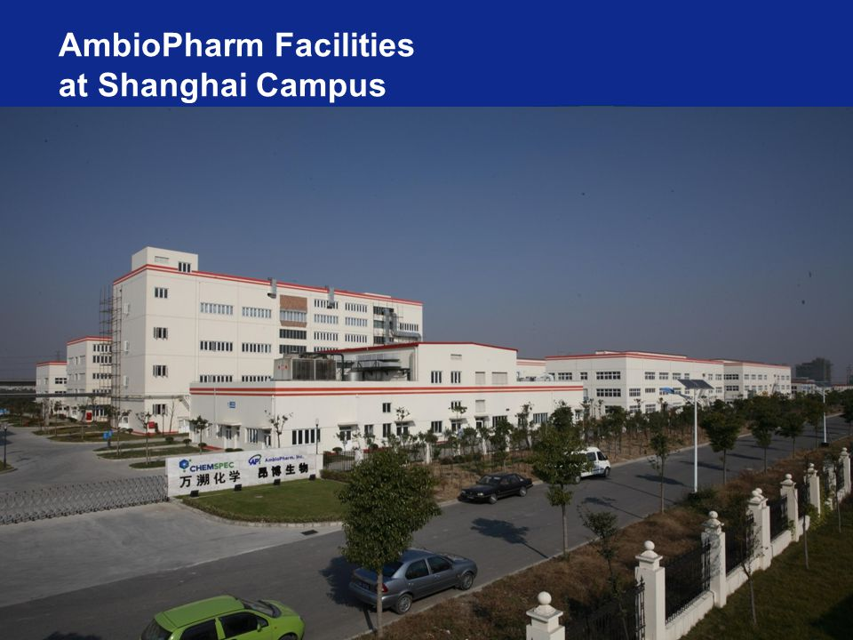 AmbioPharm Facilities at Shanghai Campus