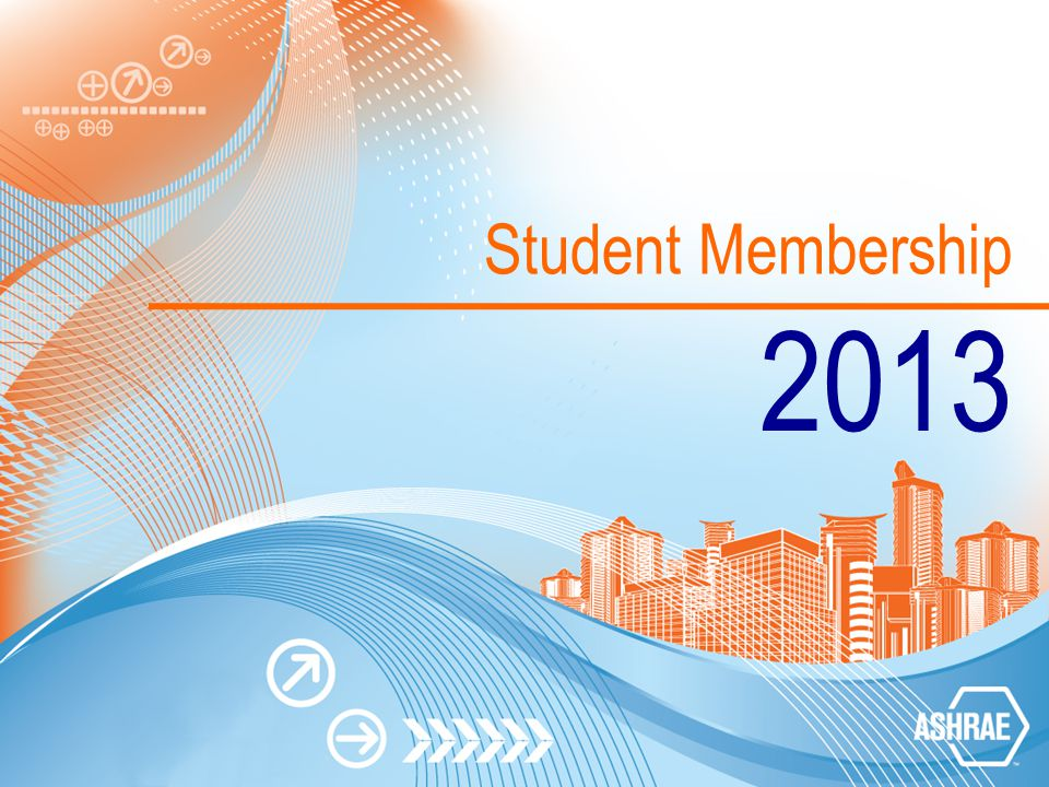 Student Membership 2013
