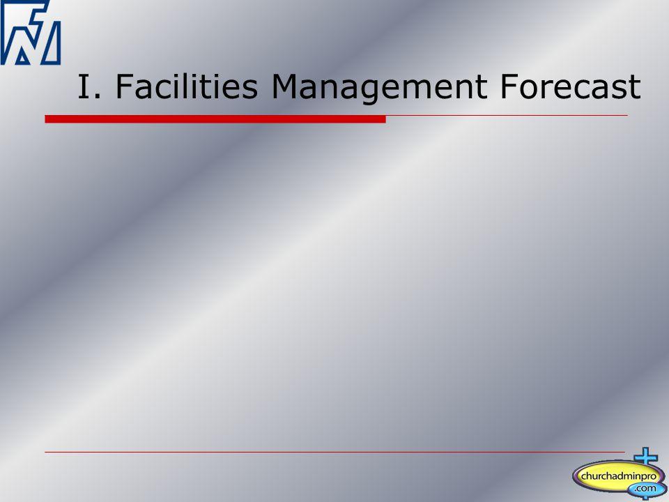I. Facilities Management Forecast
