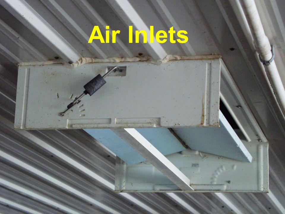 Raydot Center Air Inlet Air Inlets