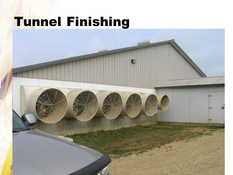 Tunnel Finishing
