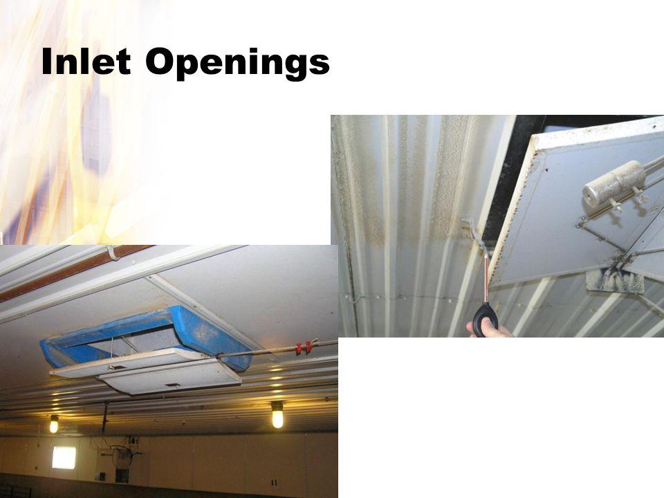 Inlet Openings
