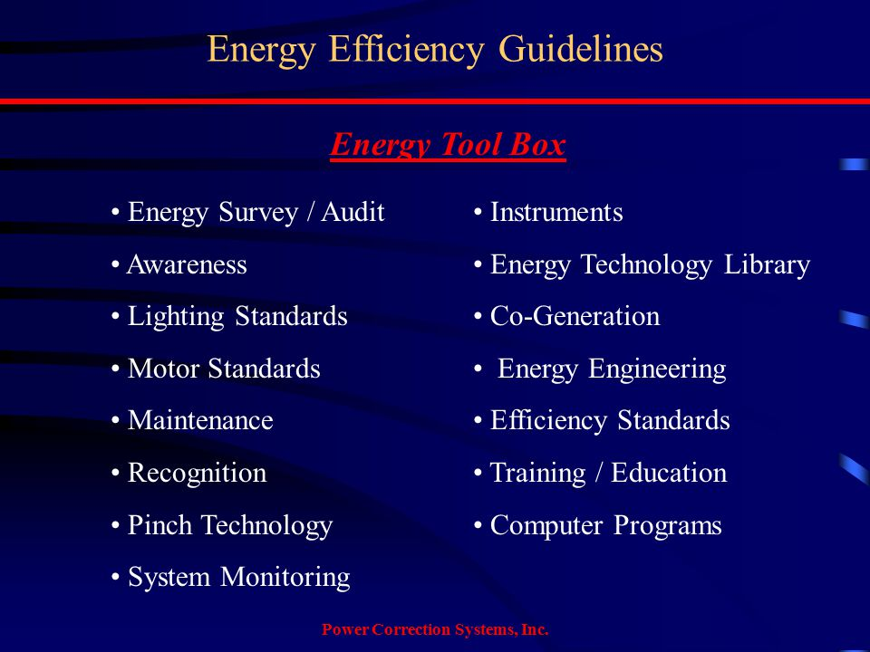 Power Correction Systems, Inc.