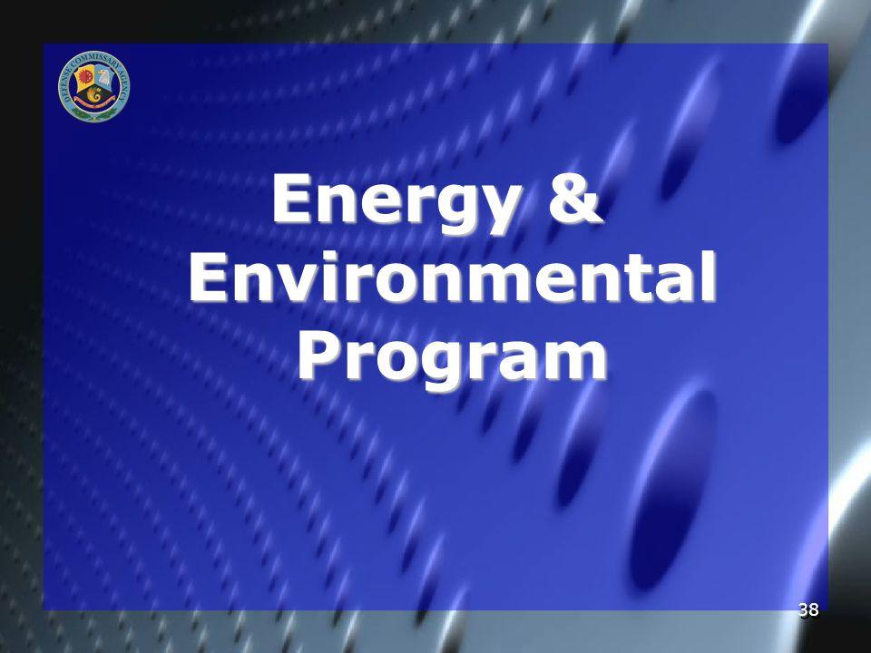 38 Energy & Environmental Program