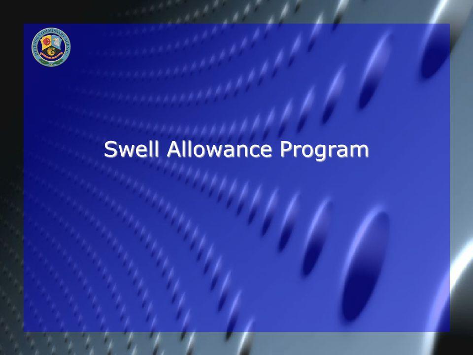 Swell Allowance Program