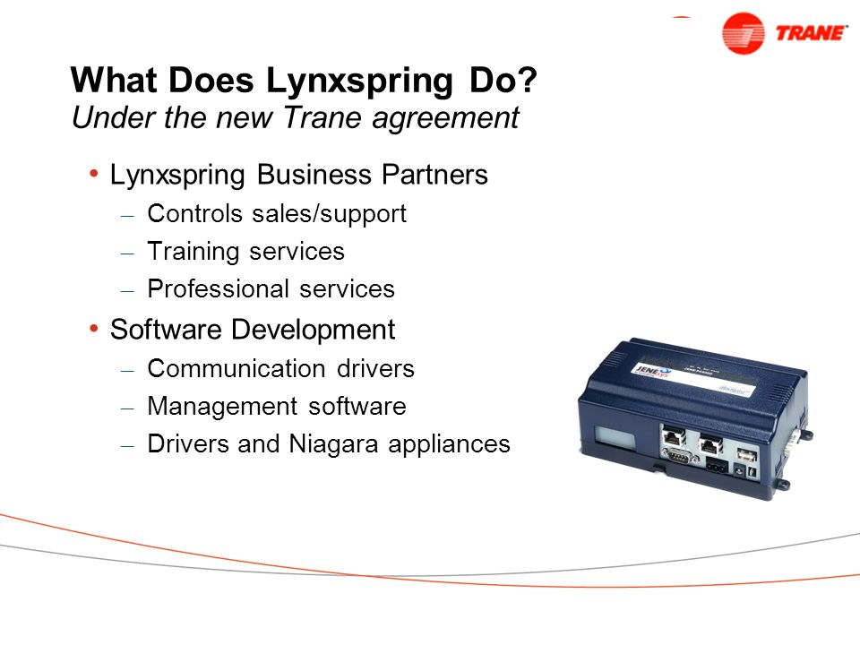 What Does Lynxspring Do.
