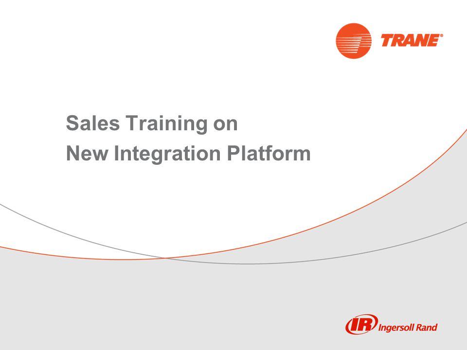 Sales Training on New Integration Platform