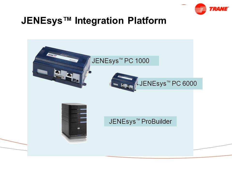 JENEsys™ Integration Platform JENEsys ™ PC 1000 JENEsys ™ PC 6000 JENEsys ™ ProBuilder