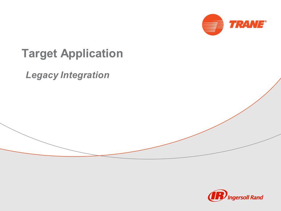 Target Application Legacy Integration