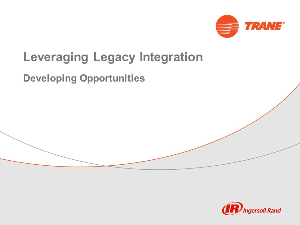 Leveraging Legacy Integration Developing Opportunities