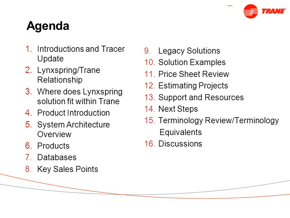Trane is now a Lynxspring Business Partner (LBP) Lynxspring is now a Trane Integrated Solutions Partner Lynxspring ...a tremendous opportunity to grow your BAS business! Mike Mumma, Controls Sales Leader