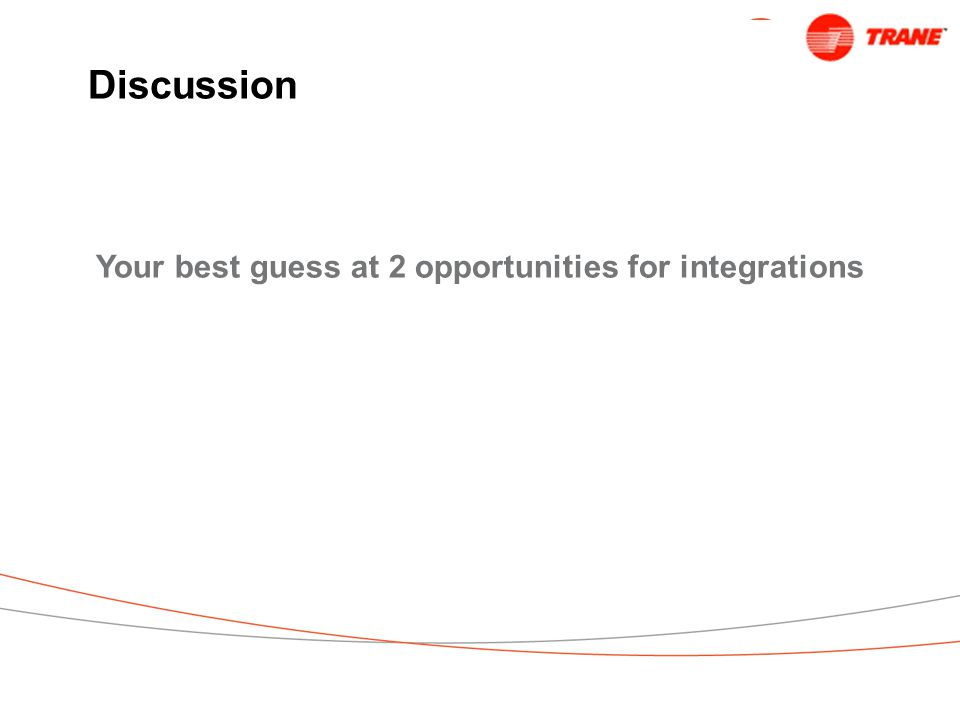 Discussion Your best guess at 2 opportunities for integrations
