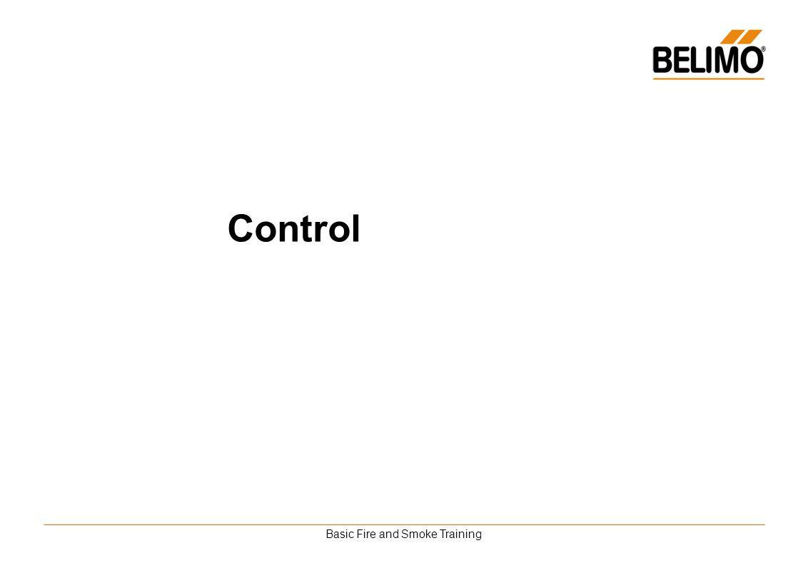 Basic Fire and Smoke Training Control