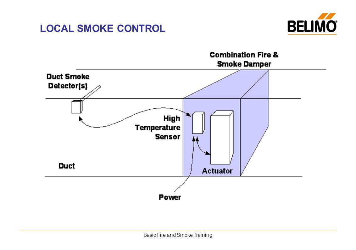 Basic Fire and Smoke Training LOCAL SMOKE CONTROL