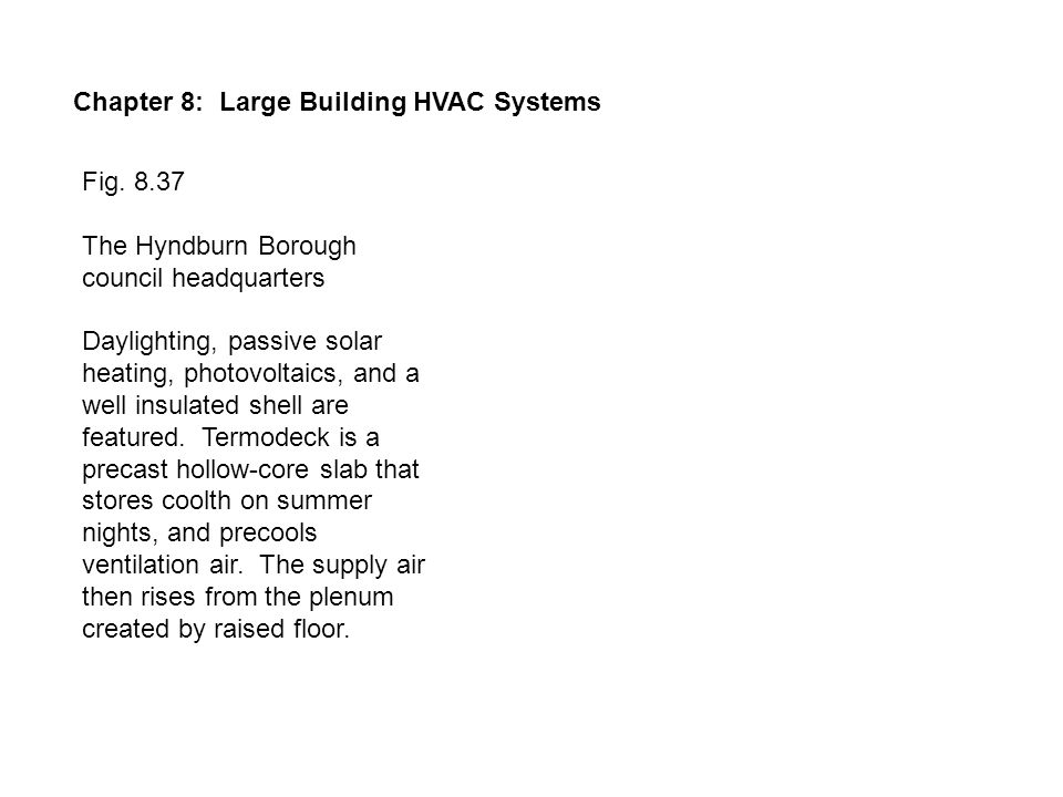 Chapter 8: Large Building HVAC Systems Fig.