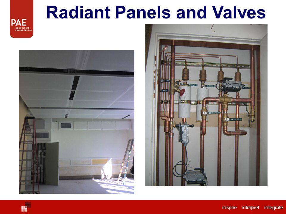 Radiant Panels and Valves inspire interpret integrate