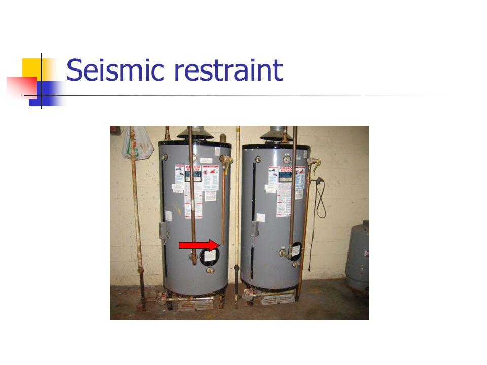 Seismic restraint