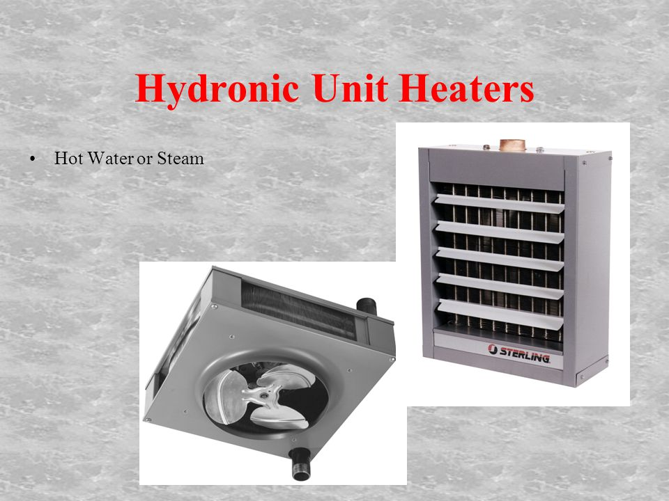 Hydronic Unit Heaters Hot Water or Steam