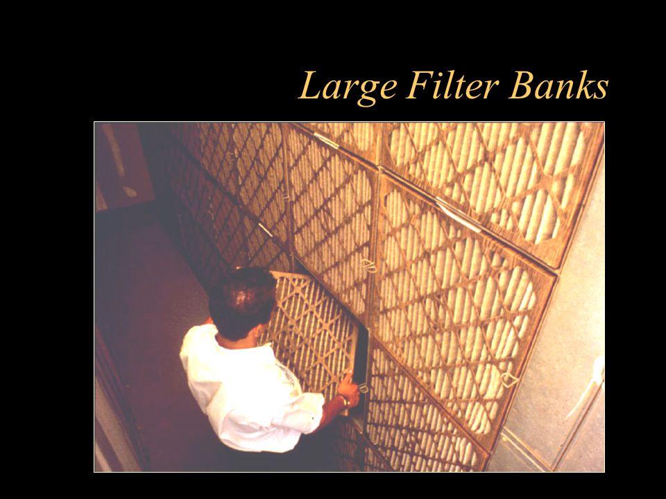 Large Filter Banks