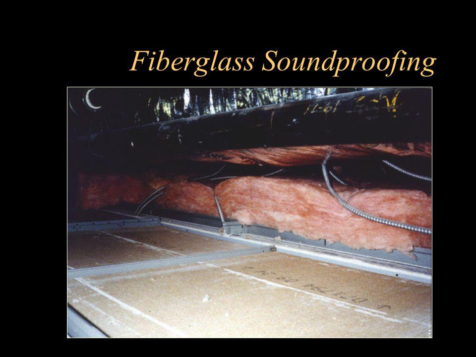 Fiberglass Soundproofing